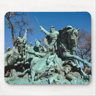 Civil War Statue in Washington DC Mouse Pad