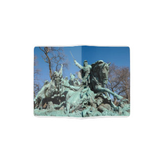 Civil War Statue in Washington DC Passport Holder