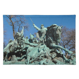 Civil War Statue in Washington DC Placemat