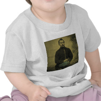Civil War Union Soldier Tintype T-shirts