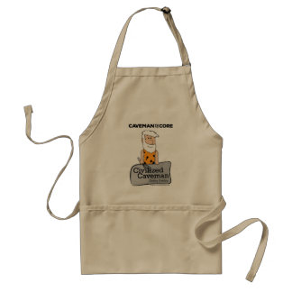 Civilized Caveman Cooking Apron