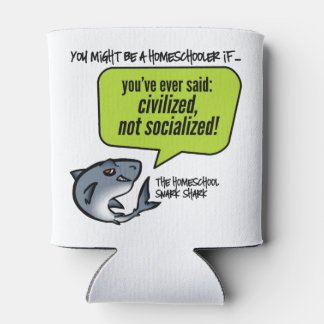 Civilized Not Socialized Can Cooler