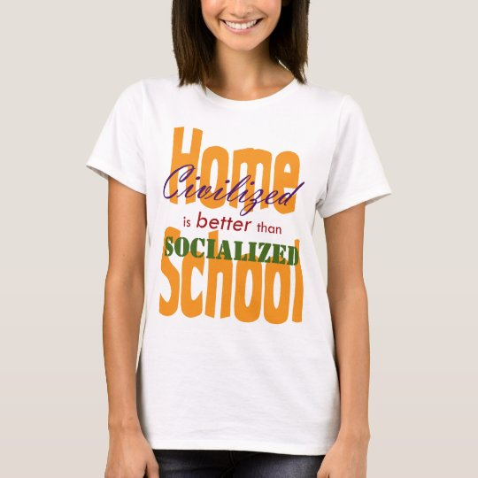Civilized v Socialized T-Shirt