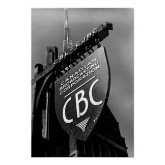 CJBC Radio Poster
