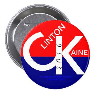 CK Clinton Kaine 2016 3 Inch Round Button