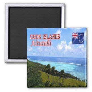 CK - Cook Islands - Aitutaki Magnet