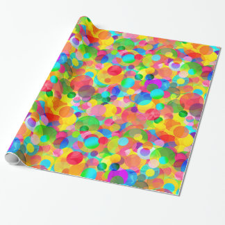 CKC Party Dots-GIFT WRAPPING PAPER
