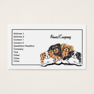 CKCS Pet Business Cards