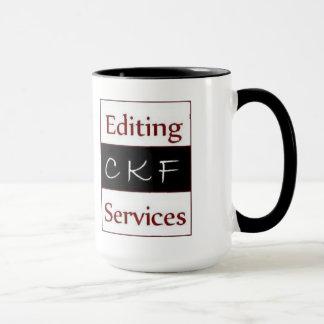 CKF Editing Services Mug (large)