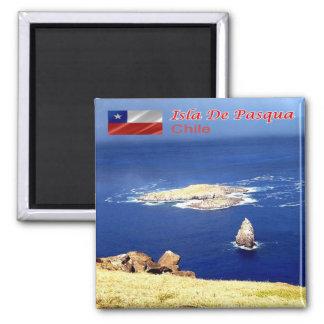CL - Chile - Isla De Pascua - Motu Nui Magnet