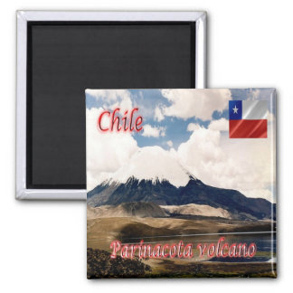 CL - Chile - Parinacota Volcano Magnet