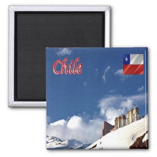 CL - Chile - Valle Nevado Square Magnet