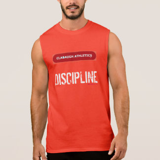 Clabaugh Athletics DISCIPLINE Sleeveless Shirt