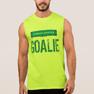 Clabaugh Athletics GOALIE Sleeveless Shirt