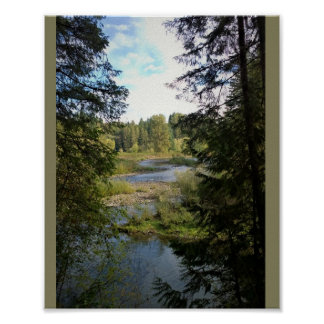 Clackamas River Poster