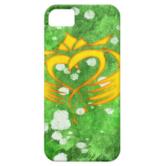 Claddagh Irish Celtic Splatter iPhone 5 Case