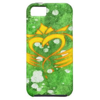 Claddagh Irish Celtic Splatter iPhone 5 Covers
