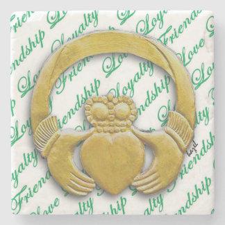Claddagh, Irish / Ireland Coasters. Stone Coaster