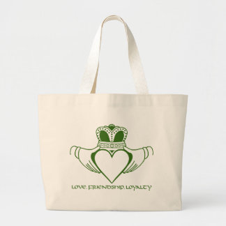 Claddagh Irish St. Patrick's day Tote bag