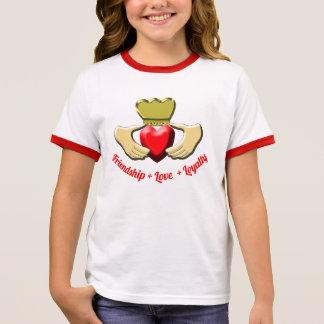 Claddagh Irish Symbol Ringer T-Shirt