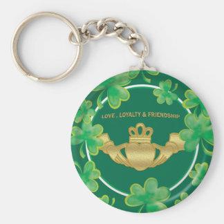 Claddagh Keychain