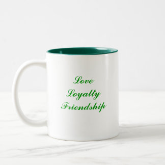 Claddagh Two-Tone Coffee Mug