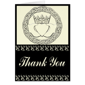 Claddagh Wedding set Thank you Cards