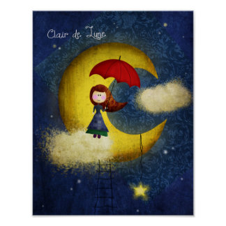 Clair de Lune Poster