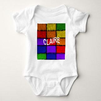 CLAIRE BABY BODYSUIT