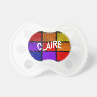 CLAIRE BABY PACIFIERS