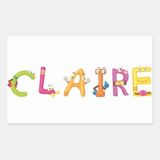 Claire Sticker