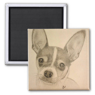 Claire the Teddy Roosevelt Terrier Magnet
