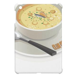 Clam Chowder Day - Appreciation Day iPad Mini Covers