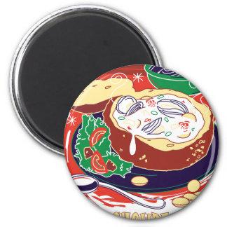 Clam Chowder Day - Appreciation Day Magnet