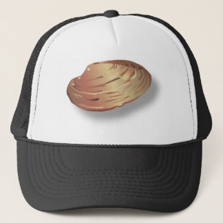 Clam Shell Image Trucker Hat