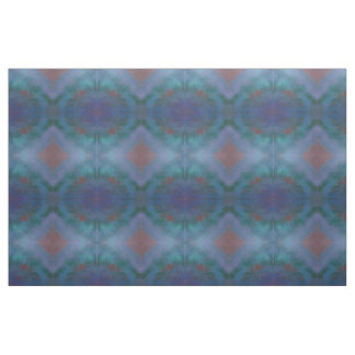 Clamorous Craft | Dark Ombre Blue Purple Green Red Fabric