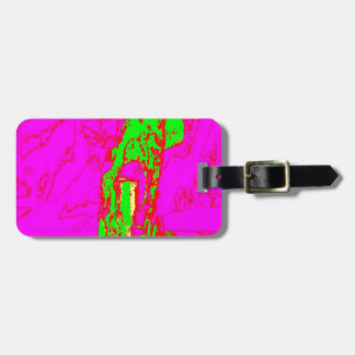 Clamp Brass Q Luggage Tag