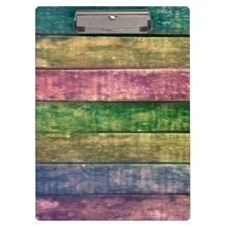 Clamping board multicolored boards clipboard