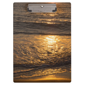 Clamping board sunset clipboard