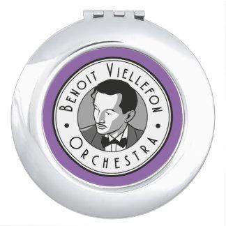 Clamshell mirror - Benoit Viellefon Orchestra Compact Mirrors
