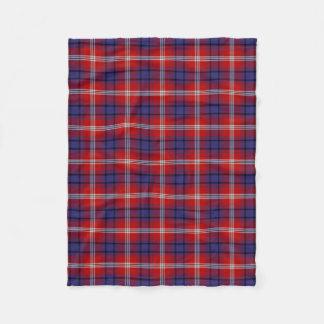 Clan Ainslie Tartan Fleece Blanket