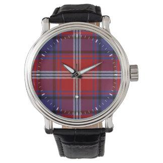 Clan Ainslie Tartan Wrist Watch