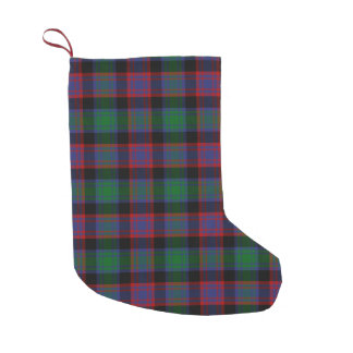 Clan Alexander Hunting Tartan Small Christmas Stocking