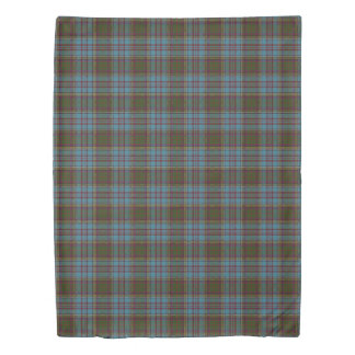 Clan Anderson Scottish Accents Tartan Duvet Cover