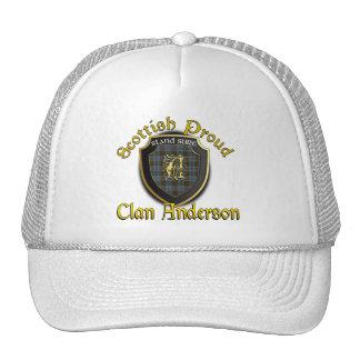 Clan Anderson Scottish Dynasty Cap Trucker Hat