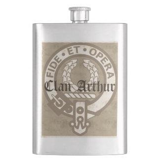 Clan Arthur Antique Hip Flask