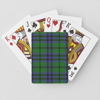 Clan Austin Tartan Playing Cards