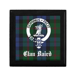 Clan Baird Crest Tartan Gift Box