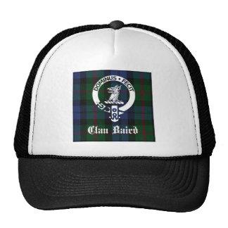 Clan Baird Crest Tartan Trucker Hat