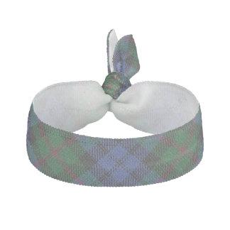 Clan Baird Scottish Accents Blue Green Tartan Hair Tie